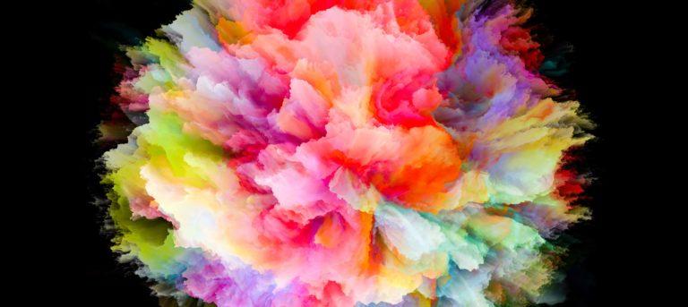 Imagen de una plethora de color