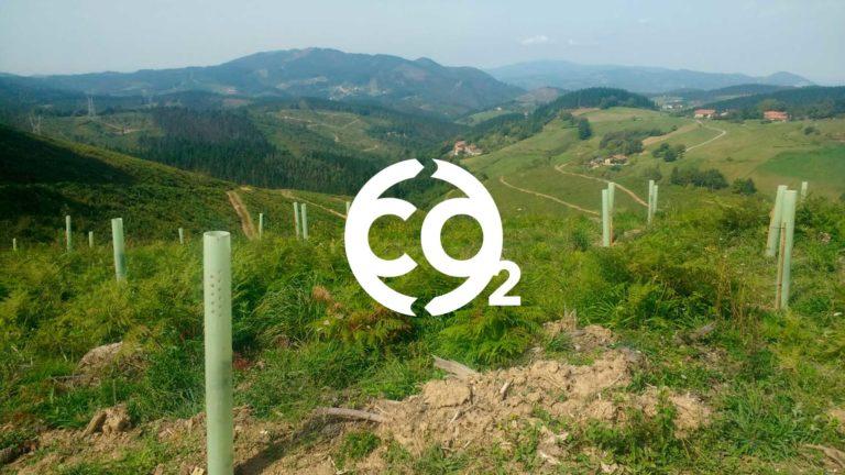 Impredecible basoa es un bosque que se crea con la idea de compensar la huella de carbono